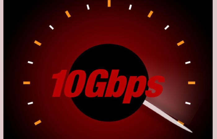 10 Gbps of the Internet, the Future of Connections